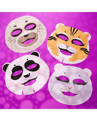 7 DAYS Gift set funny beauty (4 masks mix) - sis-style.gr
