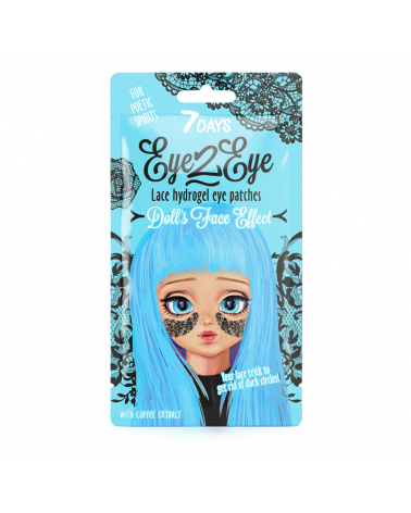 7 Days Lace hydrogel eye patches for Poetic Spirits at SIS STYLE
