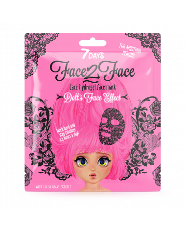 7 Days Lace hydrogel face mask for Ambitious Persons at SIS STYLE