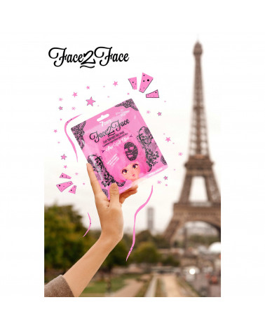 7 Days Lace hydrogel face mask for Ambitious Persons - SIS STYLE