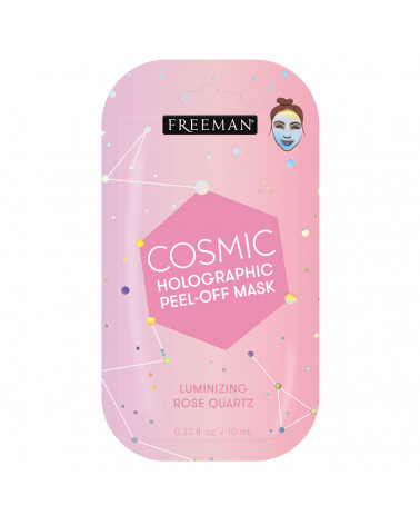 Freeman Cosmic Holographic Peel-Off Mask Luminizing Rose Quartz 10ml -