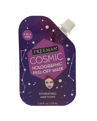 Freeman Cosmic Holographic Peel-Off Mask Hydrating Amethyst 35ml - SIS STYLE