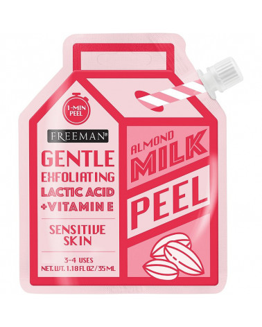 Freeman Milk Peel Almond Gentle Exfoliating for Sensitive Skin 35ml -