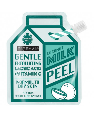 Freeman Milk Peel Coconut Gentle Exfoliating for Normal to Dry Skin 35ml - SIS