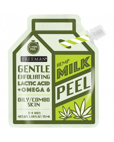 Freeman Milk Peel Hemp Gentle Exfoliating for Oily / Combo Skin 35ml - SIS STYLE