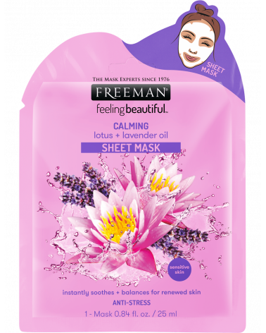 Freeman Calming Lotus & Lavender Oil Sheet Mask 25ml at SIS STYLE