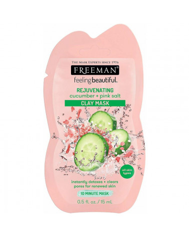 Freeman REJUVENATING cucumber + pink salt 15ml - SIS STYLE