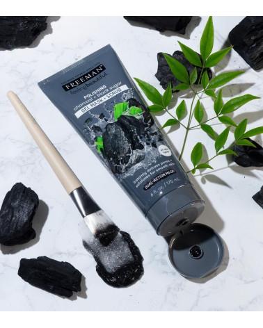 Freeman POLISHING charcoal + black sugar 175ml - sis-style.gr