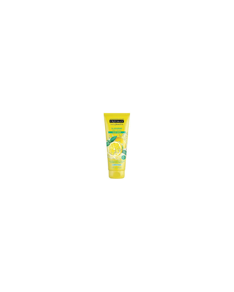 Freeman OIL ABSORBING mint + lemon 175ml - sis-style.gr