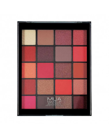MUA FLAME THROWER 20 Shade Eyeshadow Palette at SIS STYLE
