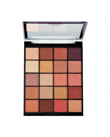 MUA MOLTEN METALS 20 Shade Eyeshadow Palette - SIS STYLE