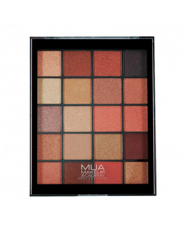 MUA MOLTEN METALS 20 Shade Eyeshadow Palette at SIS STYLE