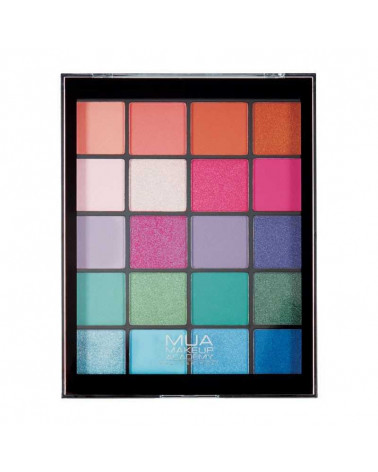 MUA TROPICAL OCEANA 20 Shade Eyeshadow Palette at SIS STYLE