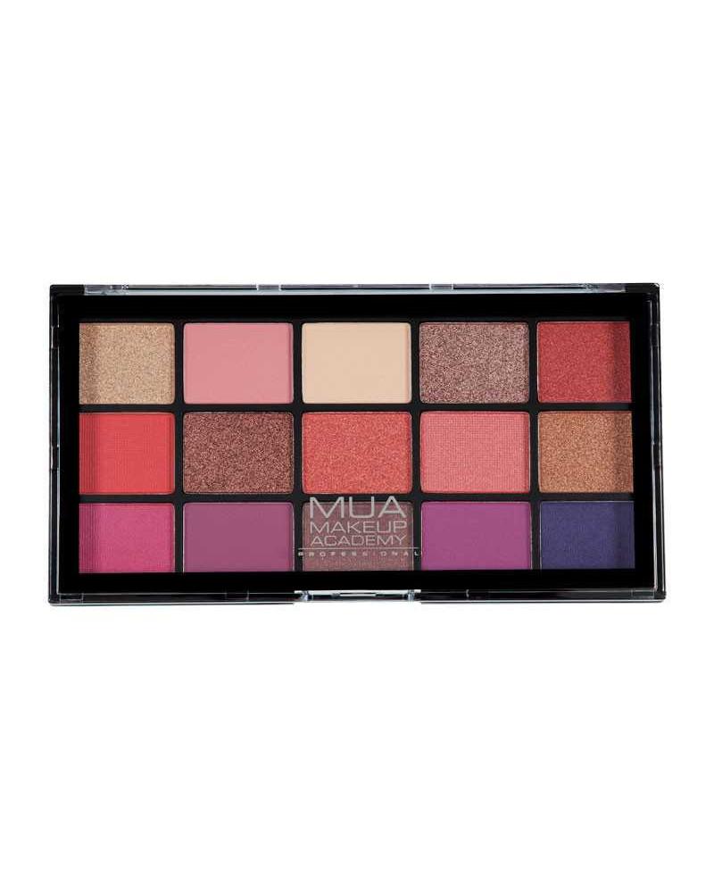 MUA Pro COSMIC VIXEN 15 Shade Eyeshadow Palette - sis-style.gr