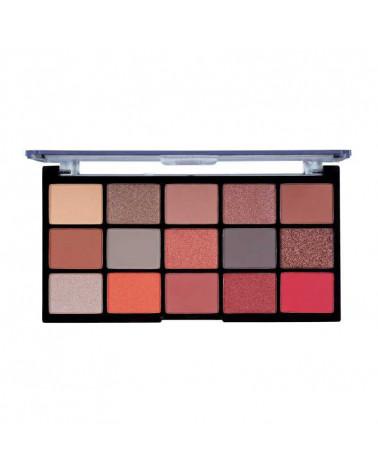 MUA Pro FIRE VIXEN 15 Shade Eyeshadow Palette - sis-style.gr