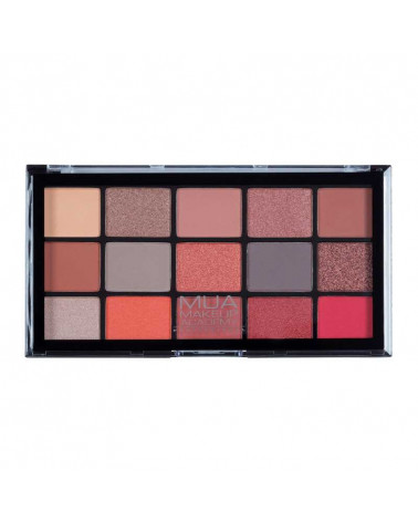 MUA Pro FIRE VIXEN 15 Shade Eyeshadow Palette at SIS STYLE