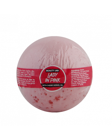 Beauty Jar LADY IN PINK Bath Bomb 150gr at SIS STYLE