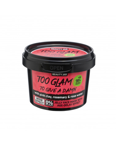 Beauty Jar TOO GLAM TO GIVE A DAMN Gel Mask 120gr - sis-style.gr