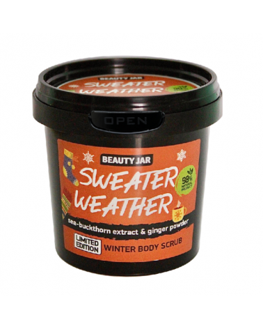 Beauty Jar SWEATER WEATHER Scrub 200gr at SIS STYLE