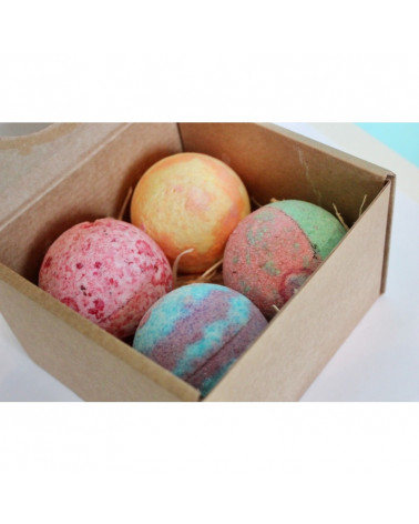 Beauty Jar JOY Bath Bomb Gift Set at SIS STYLE