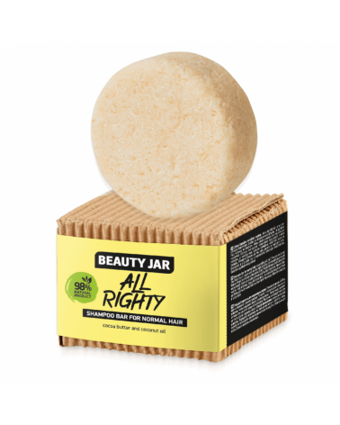 Beauty Jar Shampoo bar All Righty for normal hair at SIS STYLE