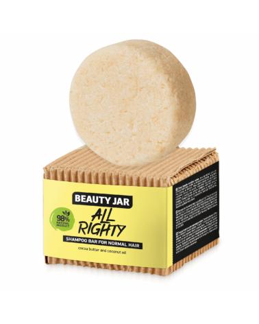 Beauty Jar ALL RIGHTY Μπάρα Σαμπουάν Για Κανονικές Επιδερμίδες - sis-style.gr