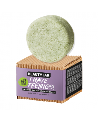Beauty Jar Shampoo bar I HAVE FEELINGS! for sensitive scalp at SIS STYLE