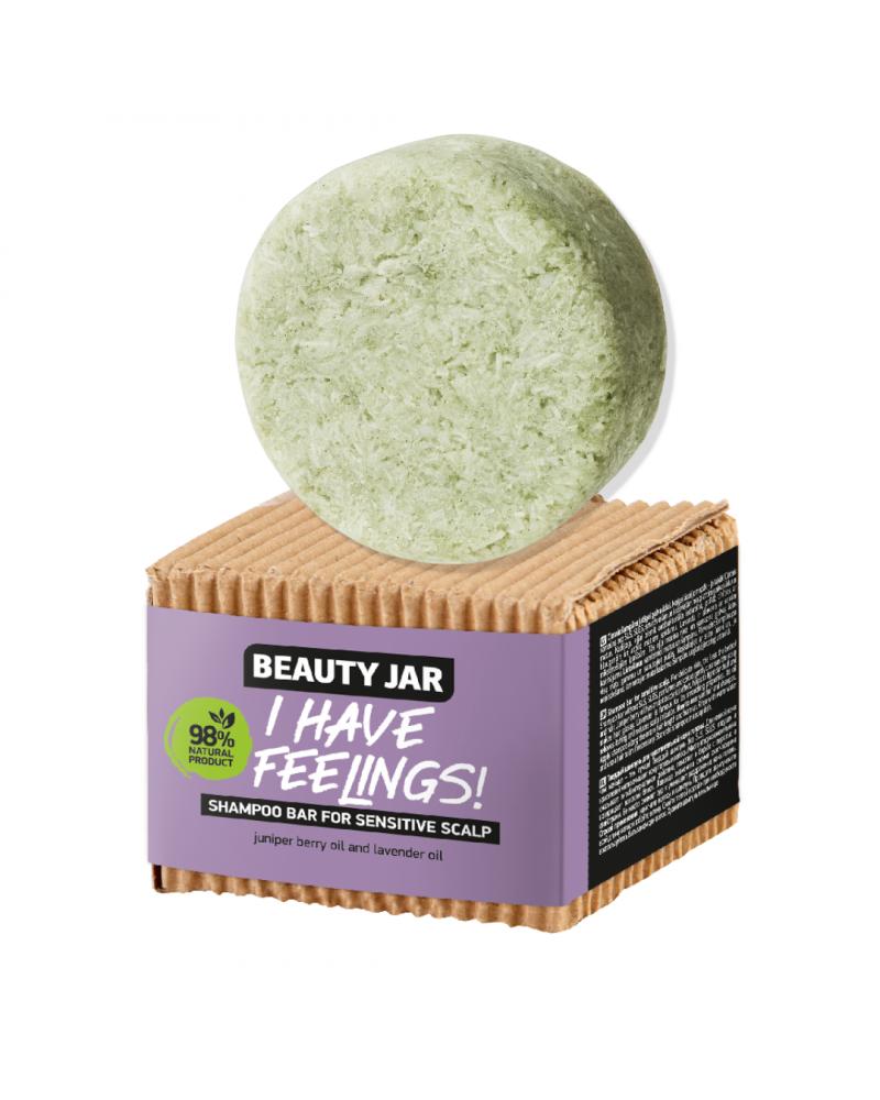 Beauty Jar I HAVE FEELINGS! Μπάρα Σαμπουάν Για Ευαίσθητες Επιδερμίδες -