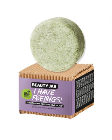 Beauty Jar Shampoo bar I HAVE FEELINGS! for sensitive scalp - sis-style.gr