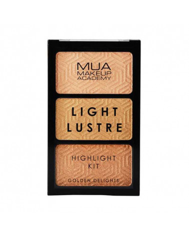 MUA Light Lustre Trio Highlight - Golden Delights - sis-style.gr