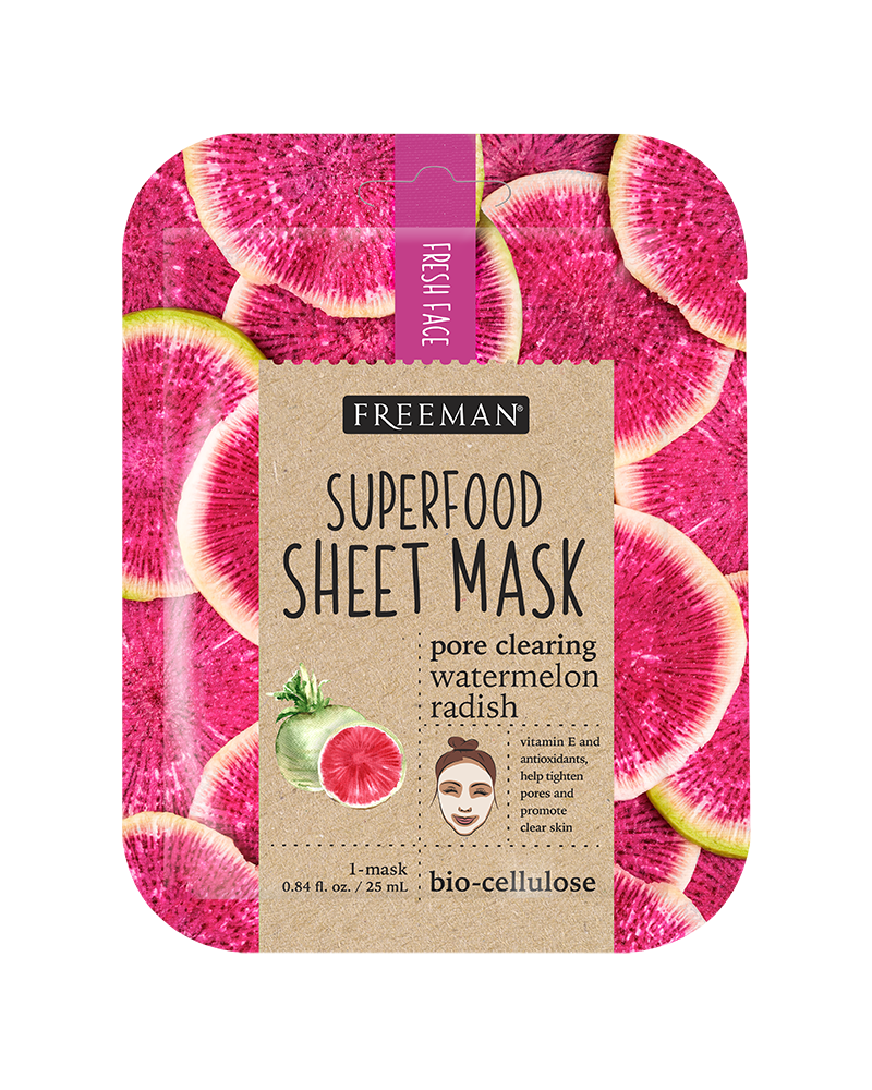 Freeman Watermelon Radish Superfood Mask 25ml - sis-style.gr