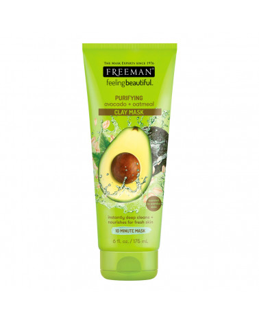 Freeman Purifying Avocado Oatmeal Clay Mask 125ml - sis-style.gr