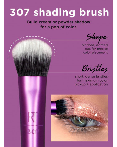 Real Techniques Everyday Eye Essentials Brush Set - sis-style.gr