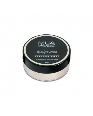 MUA Pro Loose Setting Powder - Mattifying Translucent - sis-style.gr