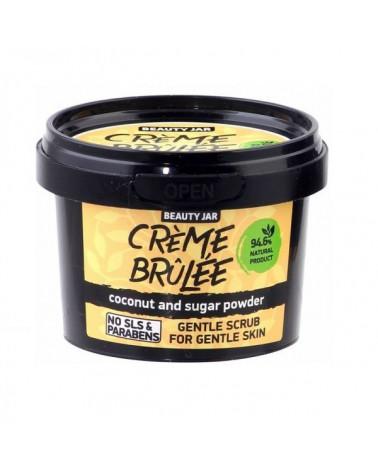 Beauty Jar CREME BRULEE Απαλό Scrub Για Ευαίσθητες Επιδερμίδες 120g -