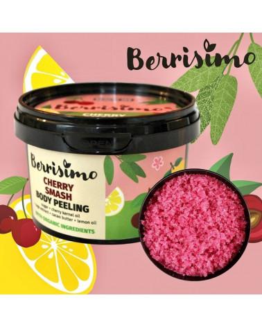 Beauty Jar Berrisimo Cherry Smash Body Peeling 300gr - sis-style.gr