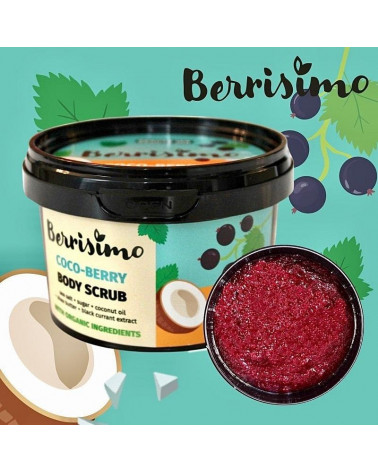 Beauty Jar Berrisimo Coco Berry Body Scrub 350gr - sis-style.gr