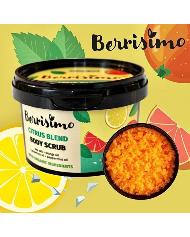 Beauty Jar Berrisimo Citrus Blend Body Scrub 400gr - sis-style.gr