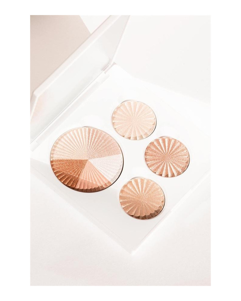 Ofra Cosmetics Highlighter Palette All Glowed Up (22gr) - sis-style.gr