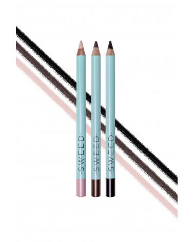 Sweedlashes Dusty brown - Silk Kohl Eye Pencil - sis-style.gr