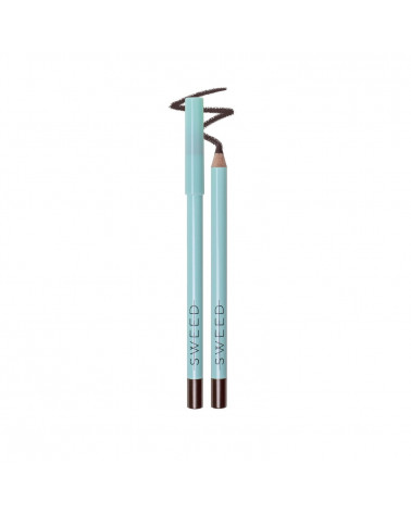 Sweedlashes Dusty brown - Silk Kohl Eye Pencil at SIS STYLE