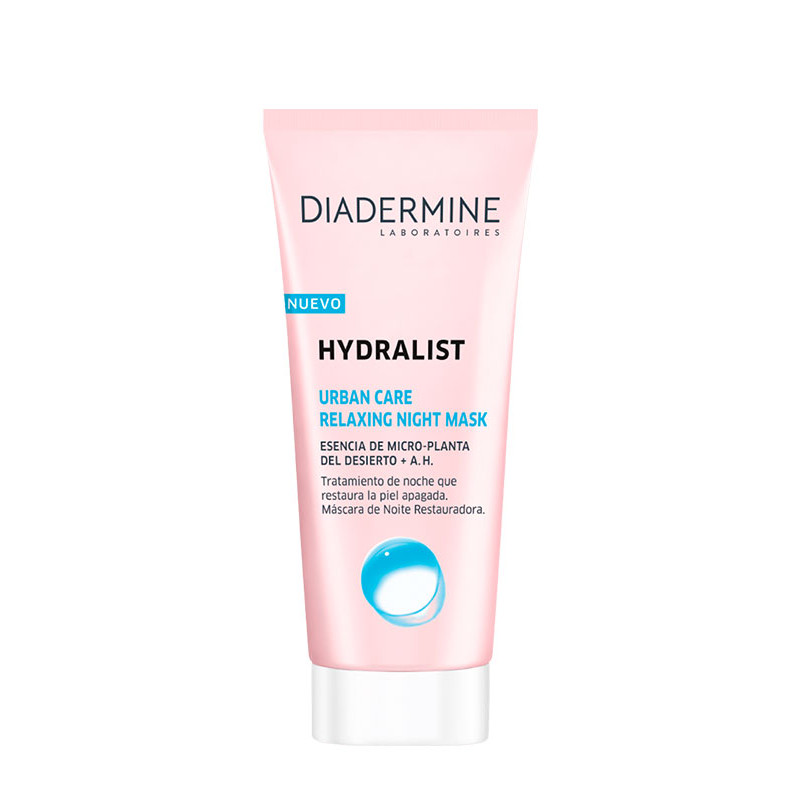Diadermine Hydralist Urban Care Relaxing Night Mask - sis-style.gr