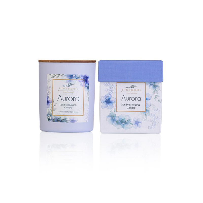 Aurora Skin Moisturizing Candle - Ιδανικό για μασάζ σώματος - sis-style.gr