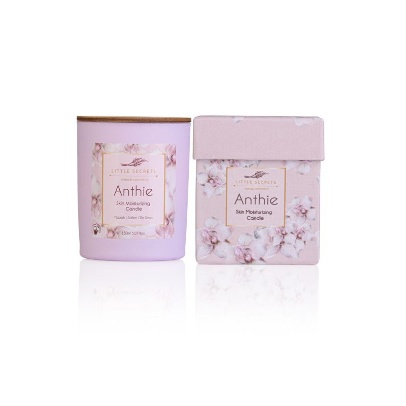 Anthie Skin Moisturizing Candle - Ιδανικό για μασάζ σώματος - sis-style.gr