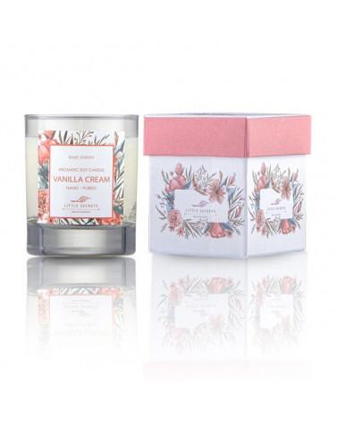Vanilla Cream Skin Moisturizing Candle - sis-style.gr
