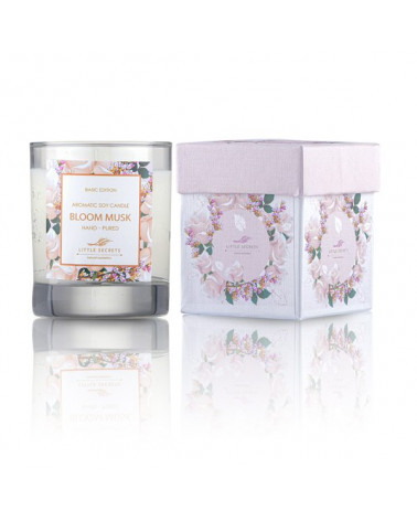 Bloom Musk Skin Moisturizing Candle - sis-style.gr