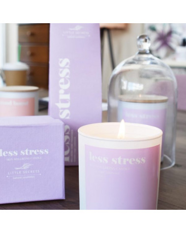 Less stress skin Wellbeing Candle - sis-style.gr