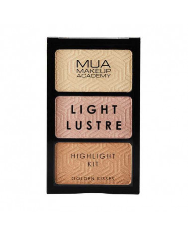 MUA Light Lustre Trio Highlight - Golden Kisses - sis-style.gr