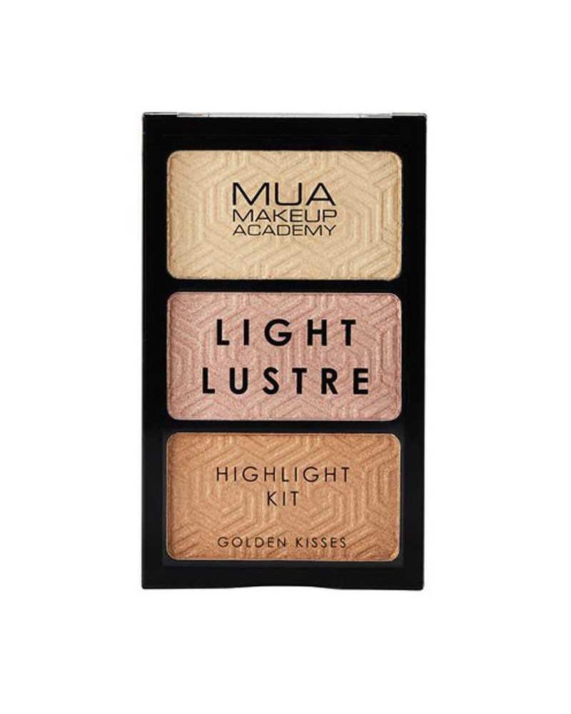 MUA Light Lustre Trio Highlight - Golden Kisses - sis-style.gr