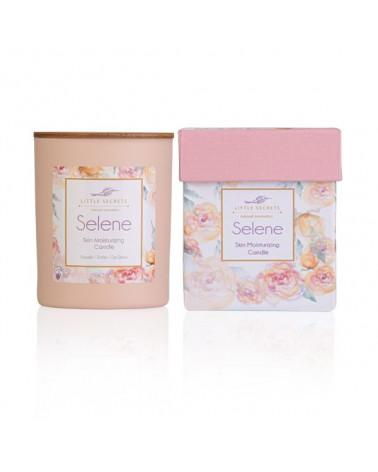 Selene Skin Moisturizing Candle - Ιδανικό για μασάζ σώματος - sis-style.gr